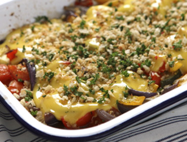Applewood® Cheese Vegetable Bake