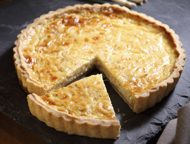 Applewood® Cheese  Onion Tart